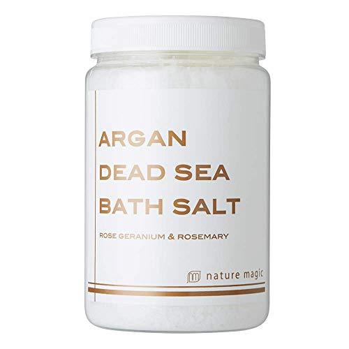 【死海の天然塩にアルガンオイルを配合した全身ポカポカ入浴剤】アルガンデッドシーバスソルト