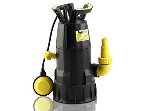 Preisvergleich Produktbild FANZTOOL Klarwasser / Schmutzwasser 2-in-1 Tauchpumpe,  Gartenpumpe 750W,  12500L / h,  max. 8m Förderhöhe,  TÜV / GS / CE / EMC CERTIFIZIERT