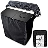 Twin Tub Portable Mini Washing Machine Cover,Twin Tub Washer Cover(Black,23''x14''x26'')