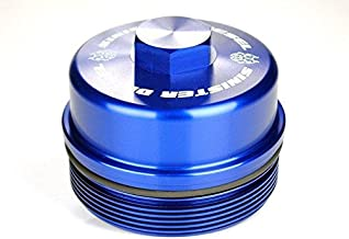 Sinister Diesel Fuel Filter Cap for Ford Powerstroke 2008-2010 6.4L