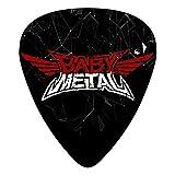 Babymetal Logos ギターピック 12枚 ユニセックス Guitar Pick (0.46/0.71/0.96mm)