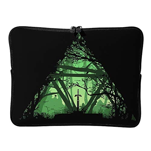 Daily Gree Sword Zelda Laptop Bags Classic Reusable - Game Lovers Laptop Briefcase Suitable for School