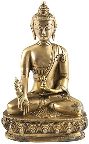 Berk FI-008 Statuen - Medizin-Buddha, Messing, Circa 20 cm
