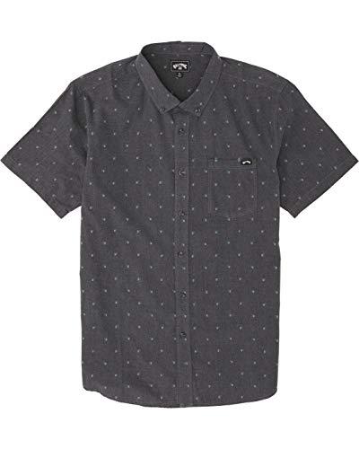 BILLABONG™ - Camisa de Manga Corta - Hombre - M - Negro