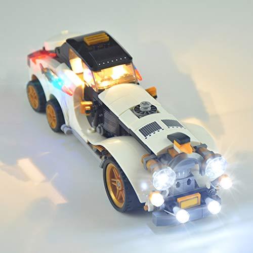 HLEZ Conjunto de Luces Lluminación para El Rodillo ártico Pingüino Modelo de Bloques de Construcción, USB Juego de Luces Compatible con Lego 70911 (Modelo Lego no Incluido)