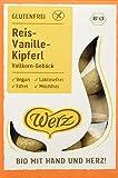 Werz Reis-Vanille-Kipferl, Vollkorn-Keks, glutenfrei, 3er pack (3 x 125g)