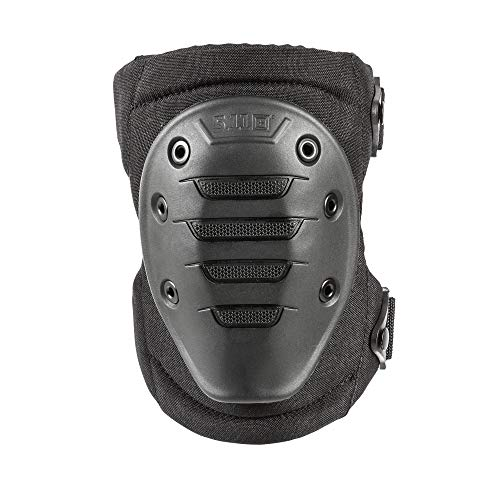 5.11 Tactical Mens Exo.K1 External Knee Pad Reinforced with EVA Foam, Black, One Size, Style 50359