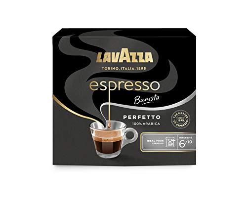 Lavazza Perfetto Espresso Barista, Café moulu, 100% Arabica, 2 paquets de 250 g