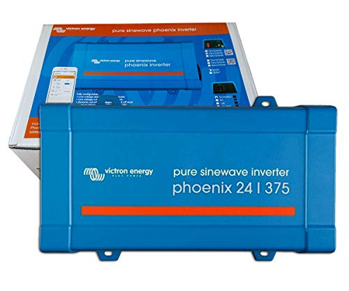 Inversor Onda Pura 24V 375VA Victron Energy Phoenix 24/375 VE.Direct Schuko | Aplicaciones Solares o Automoción