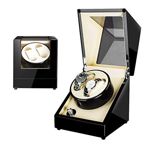GUOOK GUOOK Uhrenbeweger 2 Uhren, Uhrenbeweger für Automatikuhren Box Single Double Uhrenbeweger