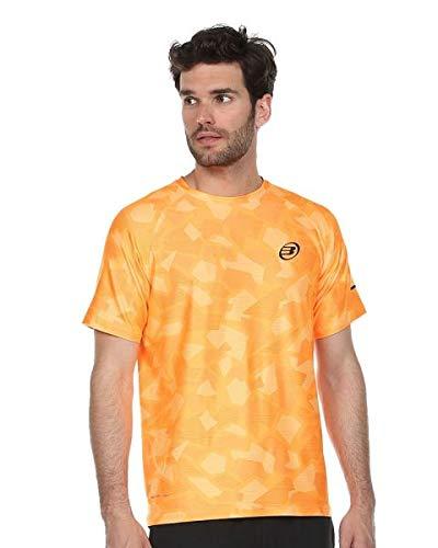 Bullpadel Camiseta Atlanta, Hombre, Mandarina Fluor, 2XL