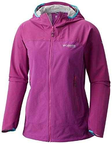 Columbia Crest to Creek Hybrid Shell Jacket - Chaqueta para mujer, color violeta intenso, XS, 1770801519XS