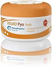 Douxo Pyo, veterinär rekommenderat antibakteriellt/svampdödande hund/katt hudservetter (30 dynor)
