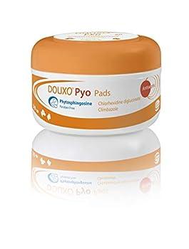 Douxo Pyo, vétérinaire recommandé antibactérien/antifongique pour la peau de chien/chat (30 coussins)