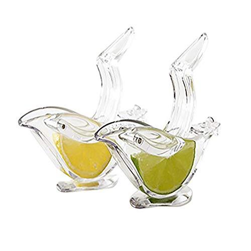 HSD Zitronen Clip Zitruspresse Hand Entsafter Handpresse Entsafter Limettenpresse Saftpresse Manuell für Zitronensaft Orangen Saft Limetten Saft Traubensaft (2pc)