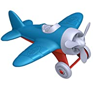 3D Model of Green Toys Airplane - BPA, Phthalates Free, Blue Air Transport Toy for Introducing Aeronautical Knowledge, Improving Grasping Power. Toy Vehicles