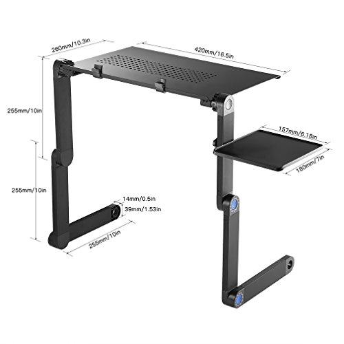Mesas para ordenador, portátil y ajustable Escritorio de la ...