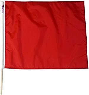 Red Stop Caution Professional Racing Flags 24 x 30