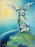 Poster 30 x 40 cm: Erzengel Michael von Marita Zacharias -