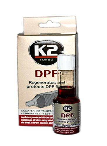 K2 Turbo DPF Diesel est un additif concentré pour le nettoyage, régénération et protection du filtre à particule.