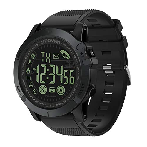 CHCUAN T1 Takt Military Grade Super Tough Smart Uhr Outdoor Sportuhr Herren Digitale wasserdichte Pedometer Kalorienzähler Multifunktions Bluetooth Smart Uhr