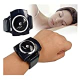 ERTYU Stop Snoring Wristband Sleep Connection Snore Stopper Anti-Snoring Devices with Biofeedback Sensor Sleeping Aid Device for Men and Women