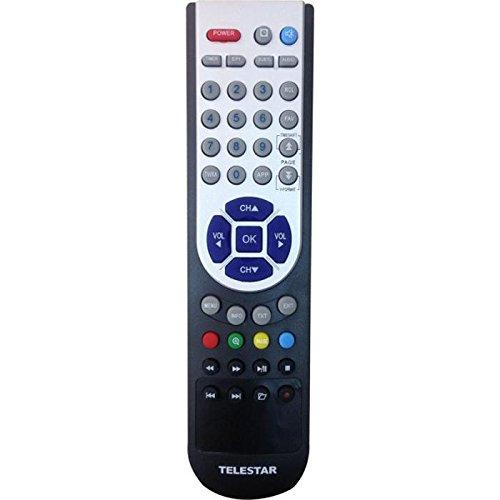 Telestar Fernbedienung für TD 2510 HD, TD 2520 HD und DigiHD TS 1, DigiHD TS 2, TD 1020 S