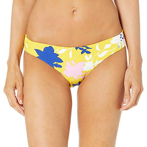 Seafolly Women's Hipster Bottom Swimsuit, Florence Sunflower, 8 US