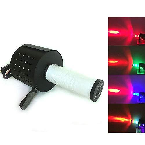 ZTBXQ Bühnenzubehör Effektmaschinen Handnebelmaschine CO2-Kanonennebel Kryo-Jet-Maschine Konfetti-Maschine mit DMX-512 LED-Leuchten Trockeneis-Nebelmaschine Säule für Bühneneffekt Hochzeitsfeier DJ