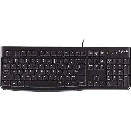 Logitech Keyboard K120 for Business - BLK - ESP - USB - N/A - EMEA