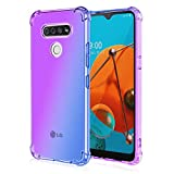 Adamarkeer LG K40S Case Clear Transparent Back Cover