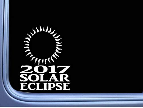 H421ld Solar Eclipse L agosto calcomanía sol luna total