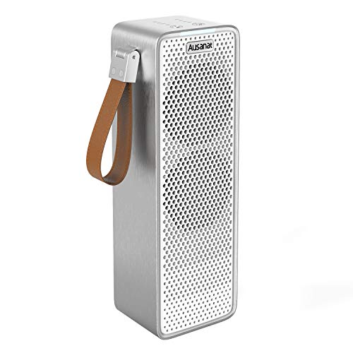 Purificador de Aire para Hogar con Filtro HEPA, Purificadores de aire de Doble Ventilador Para Viajes en Coche, USB Desktop Filtro de aire Captura Alergias, Polvo, Humo, Caspa de Mascotas
