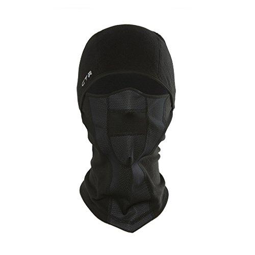 Chaos Multi-Tasker Pro Masque tempête Fonctionnel pour Adulte L/XL Noir - Noir