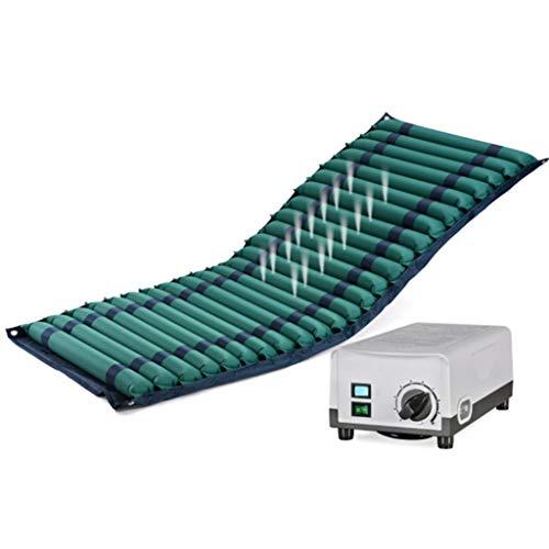 Colchón de Aire con Bomba de presión alterna Medical System antiescaras Mat Paciente Mayor Cuidado de Las hemorroides Cojín Inflable de la Cama