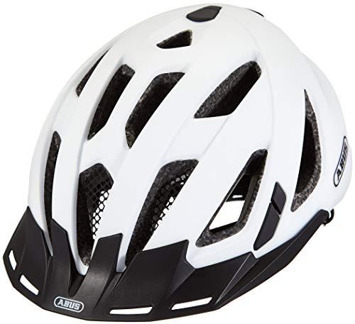 ABUS Unisex-Erwachsene URBAN-I 3.0 Fahrradhelm, Weiß (polar white X), XL (61-65)