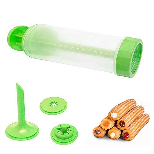 Máquina de Fazer Churros Manual Verde