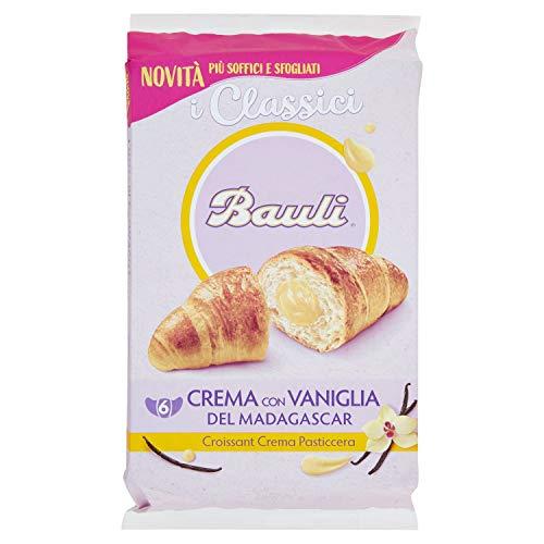 Bauli Croissant Crema Pasticcera, 6 x 50g