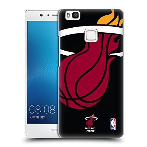 Oficial NBA Oversized Icon Miami Heat Carcasa rígida Compatible con Huawei P9 Lite / G9 Lite