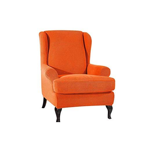 DSDD Protector de sofá elástico, Todo Incluido Jacquard Sofá Slipcove Funda de sofá Antideslizante Sofá Sillón Funda de Silla para Protector de Muebles Silla-E