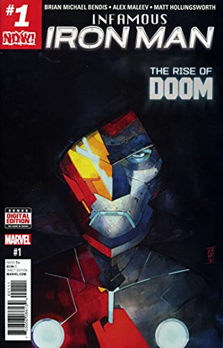 Infamous Iron Man #1 VF/NM ; Marvel comic book