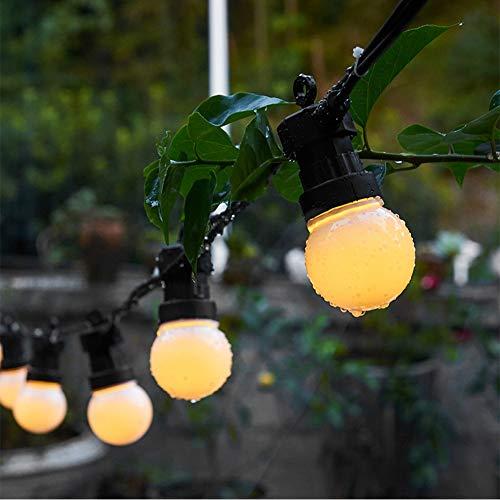 Globe String Lichtsnoer voor in gebruik, warm wit, decoratief, voor slaapkamer, bruiloft, feest, Kerstmis, festival, boomdecoratie, buitenverlichting, meisjes, slaapkamer, party, hut