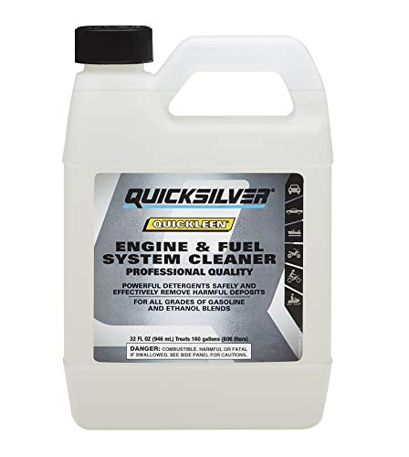 Quicksilver 8M0058681 Quickleen Engine and Fuel System Cleaner - 32 Ounce Bottle