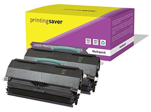 2x NERO Toner compatibili per LEXMARK X264dn, X363dn, X364dn, X364dw stampanti
