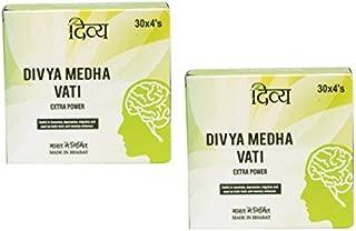 Divya Medha Vati Extra Power 120 Tablets x 2 Packs