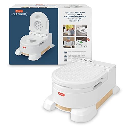 Fisher-Price Orinal aprende a ir al baño, para bebés y niños (Mattel HBX68), Embalaje...