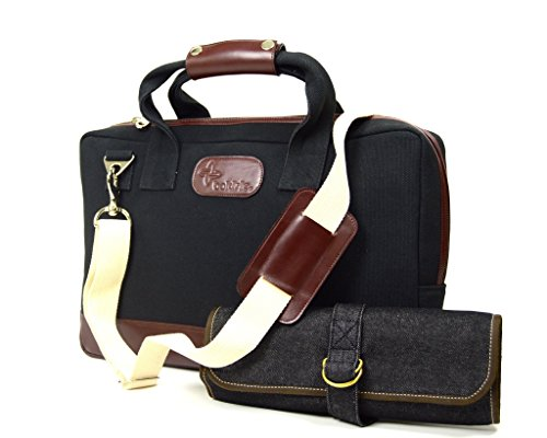 Boldric Mixology Bag Professional Bartender Cocktail Tote Kit by Boldric