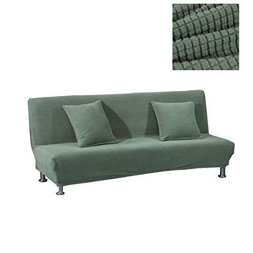 WINS Sofabezug ohne armlehnen Stretch Abdeckung Husse für Sofabett Armless Sofaüberzug Sofahusse Ohne Armlehne