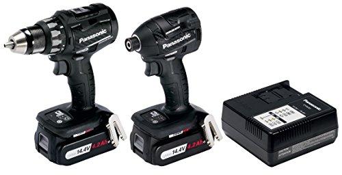 Panasonic EYC215LS2F31 14.4V DV BRUSHLESS Drill Impact Driver TWINPACK 2 X 4.2AMP BATTS