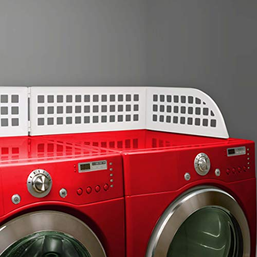 Haus Maus - The Original Laundry Guard - Keeps Laundry from Falling Behind Most Front Loading WashersDryers - Magnetic - 505 x 21 x 8 - Made in North America